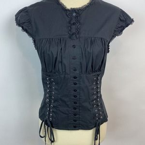 Victoria's Secret/Moda Corset Top Black size Large